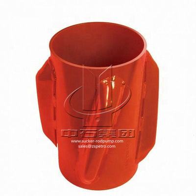 Solid Body Welded Spiral Vane Centralizer High Performance OEM Service
