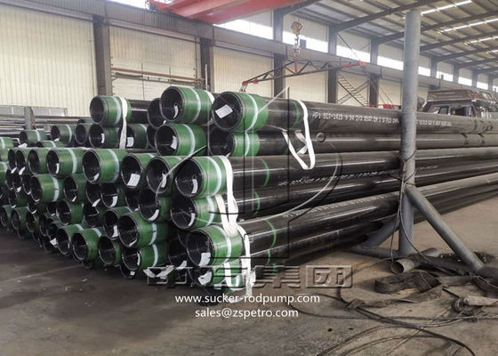 K55 Steel Grade Seamless Casing Pipe Hot Rolled For Oil Drilling API 5CT Certification